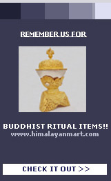Buddhist Ritual Itmes
